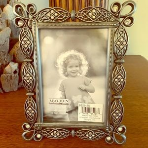 Malden Jeweled Metal Picture Frame 3.5X5.